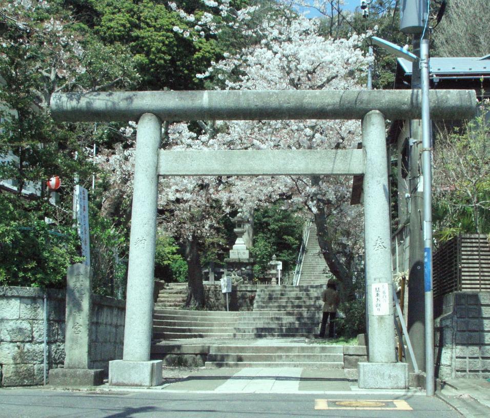 甘縄神明神社 鎌倉